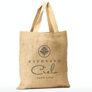 Espresso Cielo Tote Bag